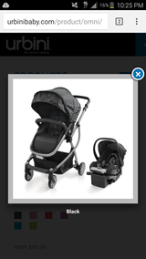 Urbini omni 3 in 1 travel system in Fort Campbell, Kentucky