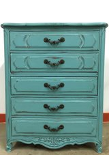Painted Chest of Drawers Dresser in Naperville, Illinois
