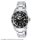 NEW Invicta 8932OB Gent's Pro Diver Black Dial SS Bracelet Dive Watch in Naperville, Illinois