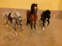 Vintage lot of Reeves Breyer Toy Horses 1995 in Naperville, Illinois