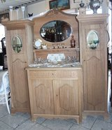 beautiful antique credenza in Ansbach, Germany