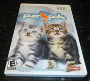 Nintendo Wii Purr Pals Cats Video Game Complete in Houston, Texas