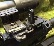 Magpul MBUS PRO. Rear sight only in Camp Pendleton, California