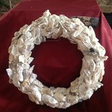 Shell wreath. # 2 in Beaufort, South Carolina
