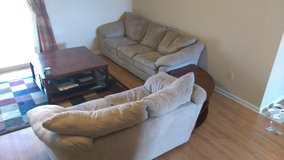 Living room set (Couch, love seat, coffee and end tables) - $350 (Fort Rucker) in Fort Rucker, Alabama