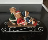 Bears On a Sled Figurine in Fort Knox, Kentucky