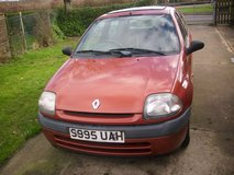 renault clio 1.2 only 42.000 miles from new in Lakenheath, UK