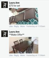 Misc furniture items in Fort Lewis, Washington