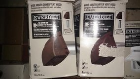 Everbilt Duct Hood Vents Kits Foil Duct NEW Dryer handyman LOTS IN THIS POST in Lockport, Illinois