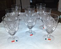 Vintage Fostoria Stemware and Salad Plates in Camp Lejeune, North Carolina