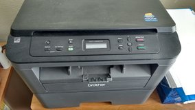 Brother DCP-L2520DW Laser Printer (new cartridge $40) in Baytown, Texas
