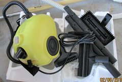 Steam cleaner w/attachments in Kankakee, Illinois