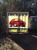 Sign for your shop in Leesville, Louisiana