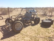 sand buggy project in 29 Palms, California