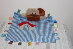 Baby Infant Toddler Tag Taggies Lovey Plush Puppy Toy in Spangdahlem, Germany