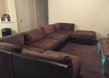 large 6 piece sectional in Baytown, Texas