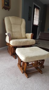 Reclining Glider with ottoman in Orland Park, Illinois