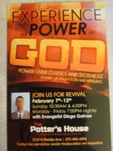 Experience  the  power  of  God in Alamogordo, New Mexico