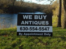 WE BUY ANTIQUES AND ESTATES in Sandwich, Illinois
