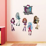 MONSTER HIGH WALL DECAL STICKERS (REMOVABLE) NEW in Camp Lejeune, North Carolina