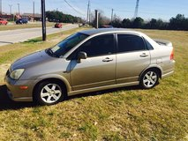 Suzuki aerio in Houston, Texas