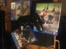 Ps4 with 3 and controller in DeRidder, Louisiana