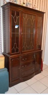 China cabinet in Houston, Texas
