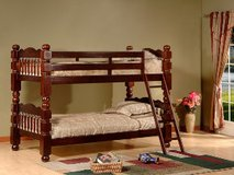 Floor Model Wood Twin/ Twin Bunkbed in Beaufort, South Carolina