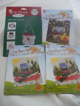 4 Kids Easy to Create Crafting Kits ~ 3 Frames and 1 Santa Bag in Chicago, Illinois