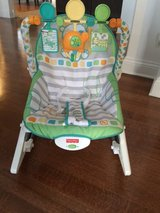 Fisher Price newborn to toddler rocking chair in Tinley Park, Illinois