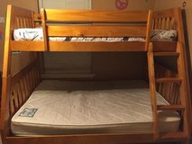 Wooden Twin/Full Bunk Bed in Hinesville, Georgia