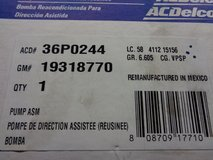 Ac Delco Re-manufactured power steering pump in Fairfield, California