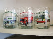 Hess Trucks Collectible Glasses (1533-459) in Camp Lejeune, North Carolina