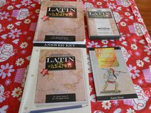 Latin Work book and accompanying materials. in San Antonio, Texas