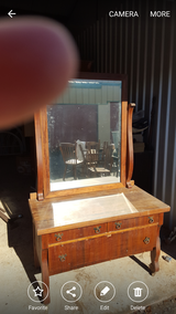Antique Dresser with Original Mirror in Macon, Georgia