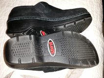 Klogs black embroidery detail shoes sz 7 in Fort Bragg, North Carolina