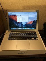 "Apple Macbook Air 13"" 2013 256GB 4GB i5 El Capitan in Beaufort, South Carolina"