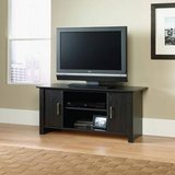 BLACK TV STAND WITH CABINETS in Temecula, California