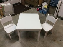 White child's table and chairs in Houston, Texas