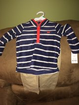 NWT carter's boys 18 month pants/sweater outfit in Fort Riley, Kansas