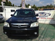 2002 Mazda Tribute SUV - Black - TINT - Aluminum Wheels - Clean - Well Maintained - $ave!! in Okinawa, Japan