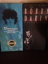 Donavan  CD boxed set, played once in Fort Lewis, Washington