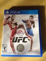 Ps4 UFC Video Game For Playstation 4 in Bartlett, Illinois