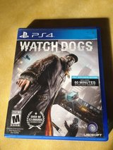 Ps4 Watch Dogs Video Game for Playstation 4 in Bartlett, Illinois