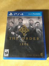 Ps4 The Order Video Game for Playstation 4 in Bartlett, Illinois