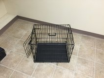 Med dog crate in Fort Irwin, California