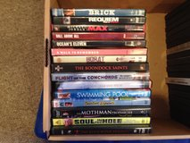 Dvds assorted in Tinley Park, Illinois