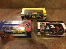 2 Dale Earnhardt and 1 Mark martin die cast car in Fort Polk, Louisiana