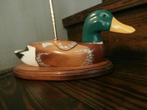 Vintage mallard duck decoy lamp in Cleveland, Texas