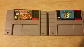 Donkey Kong Country and Super Mario World in Beaufort, South Carolina
